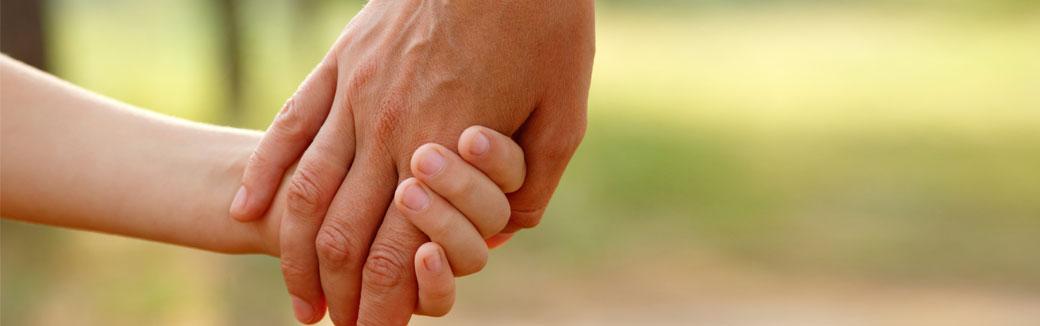 guiding hand of God
